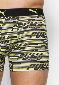Puma - LOGO 2 PACK - Pants - yellow/grey