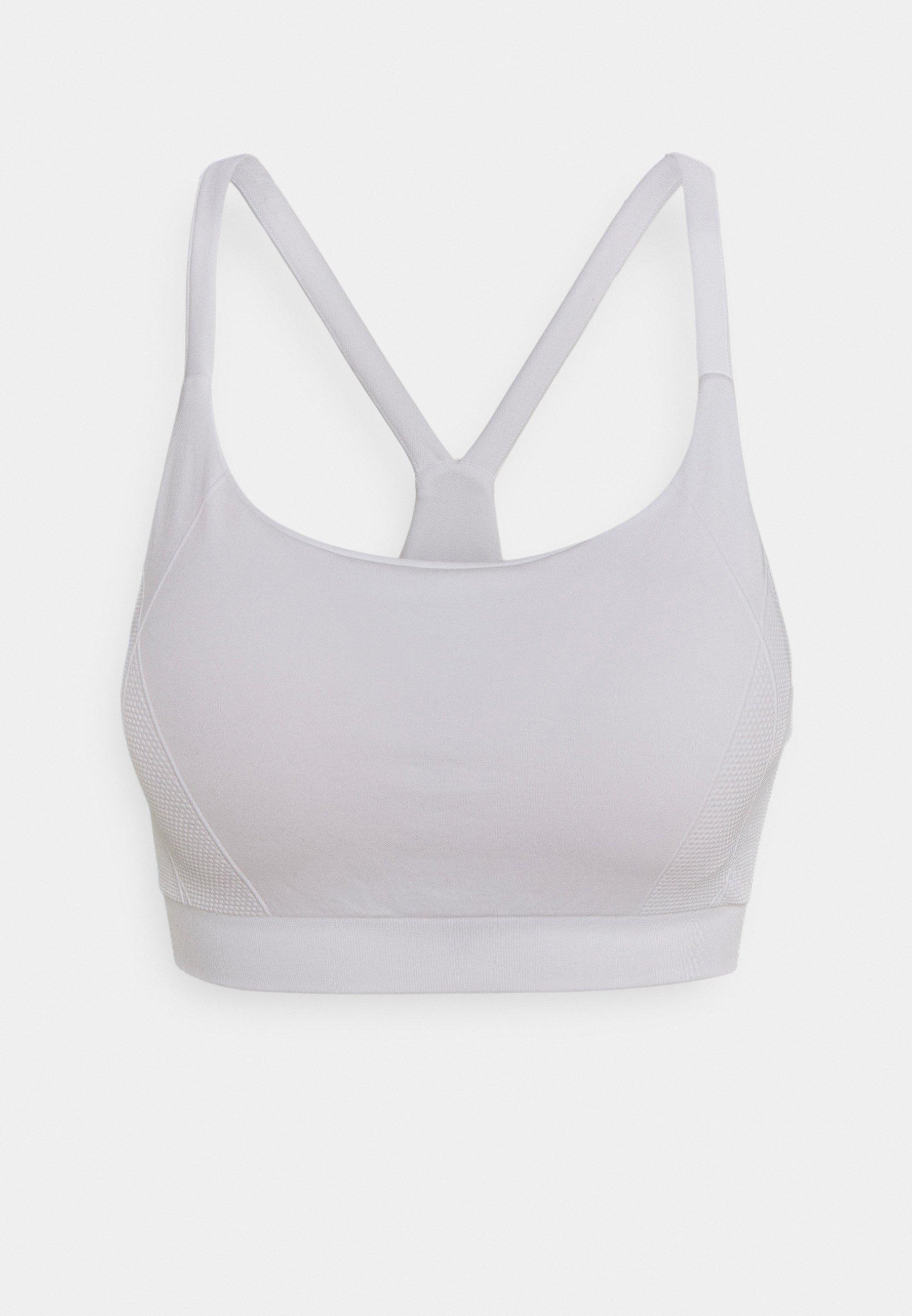 Women FOUNDATION SEAMLESS YOGA BRA - Medium support sports bra