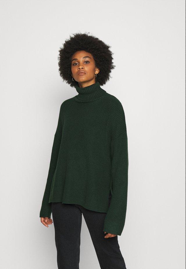 DOSA - Stickad tröja - green dark