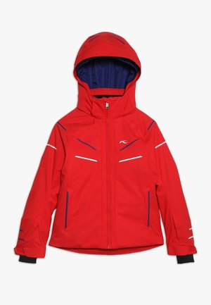 BOYS FORMULA JACKET - Snowboardová bunda - scarlet red