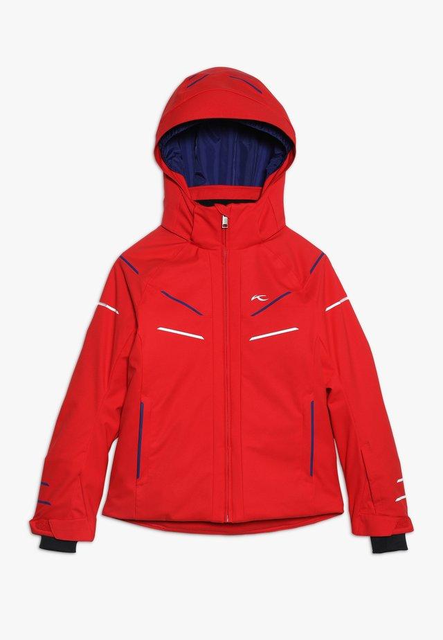 BOYS FORMULA JACKET - Chaqueta de esquí - scarlet red