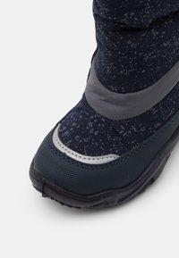 Superfit - GLACIER - Winter boots - blau/grau - 5