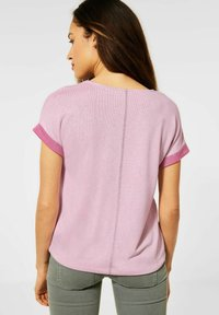 Street One - COSY  - Print T-shirt - pink - 0