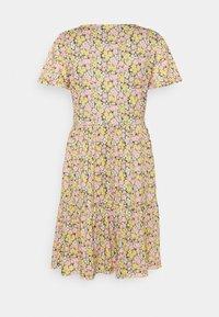 Vila - VINATALIE SHORT DRESS - Jersey dress - dark olive - 7
