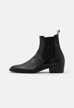 HYBRID CHELSEA CUBAN - Classic ankle boots - black
