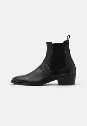 HYBRID CHELSEA CUBAN - Støvletter - black