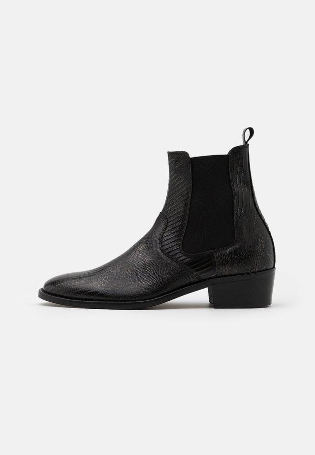HYBRID CHELSEA CUBAN - Kotníkové boty - black