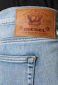 Diesel - D-EBBEY-BS - Flared Jeans - light blue - 5