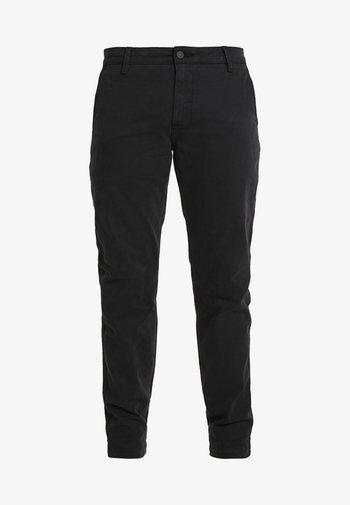 XX CHINO STD II - Trousers - mineral black shady