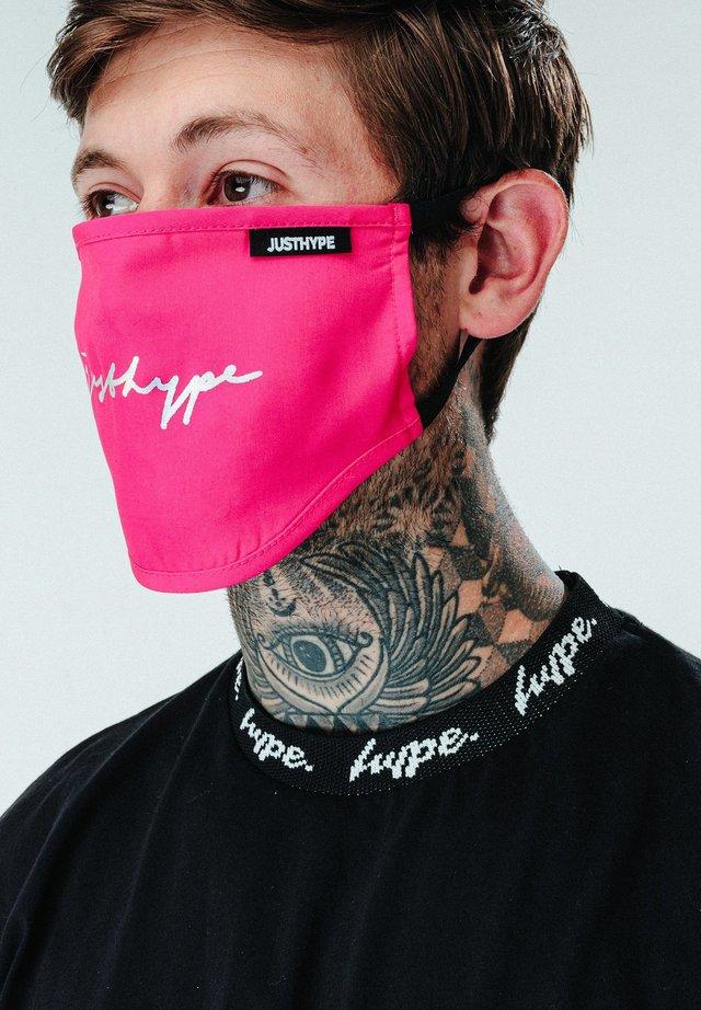 Stoffen mondkapje - pink