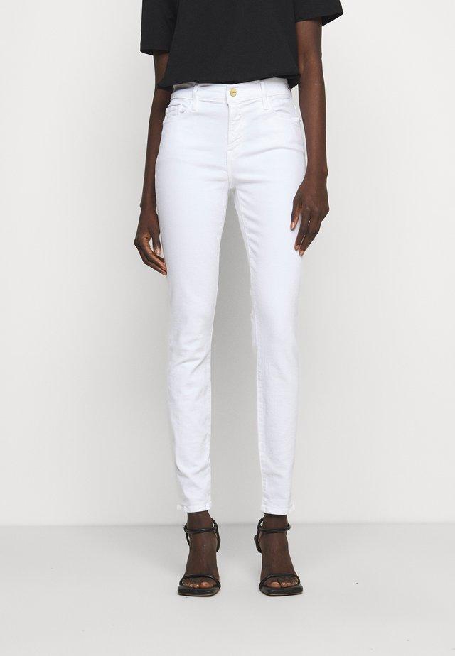 LE COLOR - Jeans Skinny Fit - blanc
