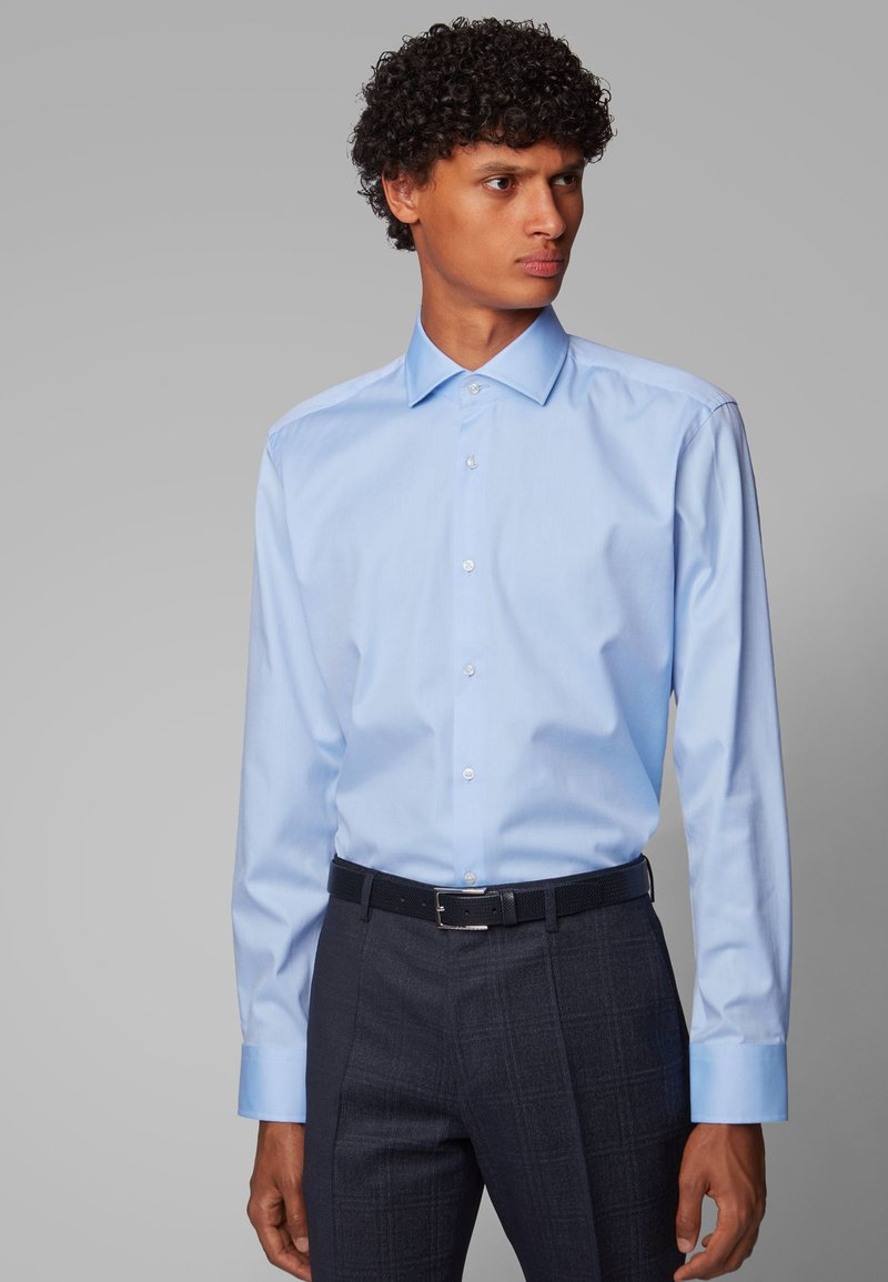 BOSS - GORDON - Formal shirt - light blue