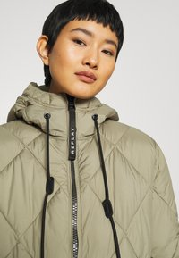 Replay - OUTERWEAR - Winter coat - light military - 5