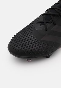 adidas Performance - FOOTBALL FIRM GROUND - Moulded stud football boots - core black/shock pink - 3