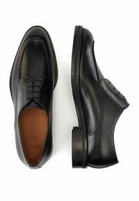 BOSS - HUNTON DERB LTVP - Smart lace-ups - black - 2