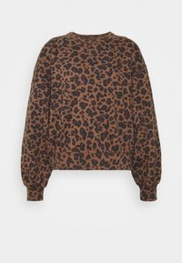 Abercrombie & Fitch - PATTERN CREW - Sweatshirt - brown - 0
