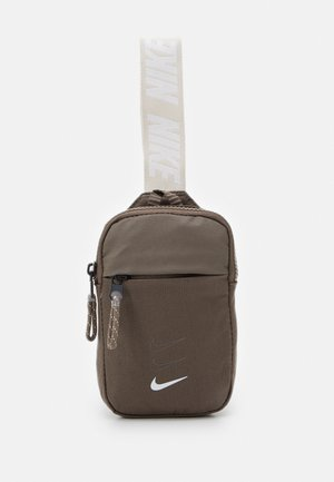 ESSENTIALS UNISEX - Across body bag - olive grey/white