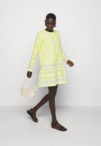 CECILIE copenhagen - DRESS - Day dress - avocado green - 1