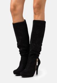 Wallis - HONEY - High heeled boots - black - 0