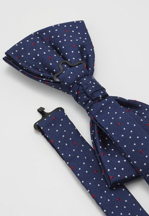 MICRO DOT BOWTIE - Bow tie - blue