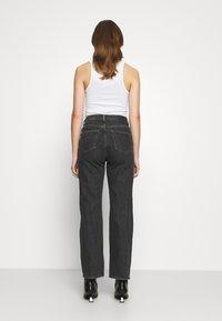 Weekday - ROWE - Straight leg jeans - nova black - 2