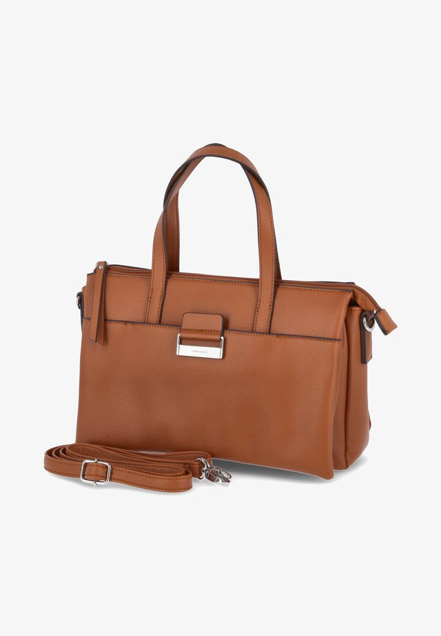 Shopping bag - dunkel orange - braun
