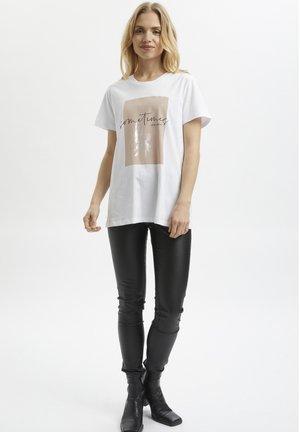 KASORRIN - Print T-shirt - optical white