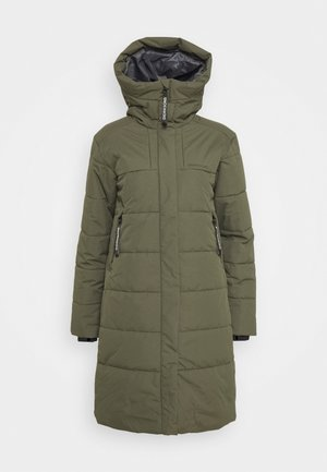 TINDRA - Winter coat - fog green