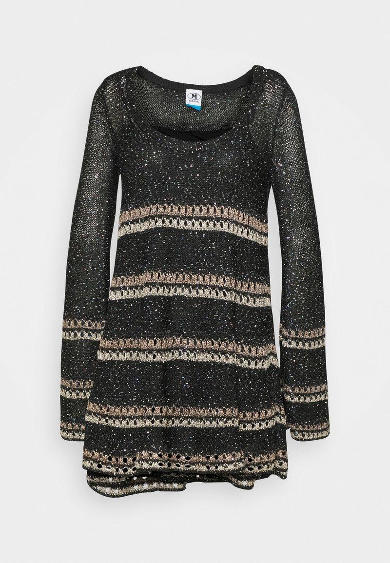 M Missoni - DRESS - Jumper dress - black