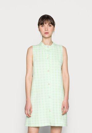 ELLIE DRESS - Shirt dress - pastel green