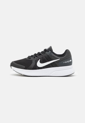 RUN SWIFT 2 - Obuwie do biegania treningowe - black/white/dark smoke grey