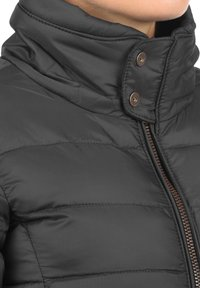 Blendshe - STEPPMANTEL CARLOTTA - Winter coat - metallic grey - 2
