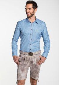 Spieth & Wensky - GABRIEL - Leather trousers - beige - 0