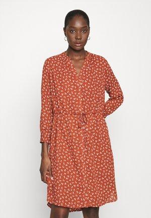 SFDAMINA DRESS  - Korte jurk - dark red