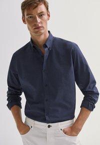 Massimo Dutti - Shirt - blue - 0