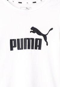 Puma - TEE - T-shirt print - white - 2