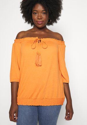 JRAVIA OFF SHOULDER BLOUSE - Blouse - autumn blaze