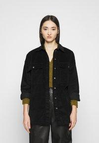 Noisy May - NMFLANNY LONG SHACKET - Summer jacket - black - 0