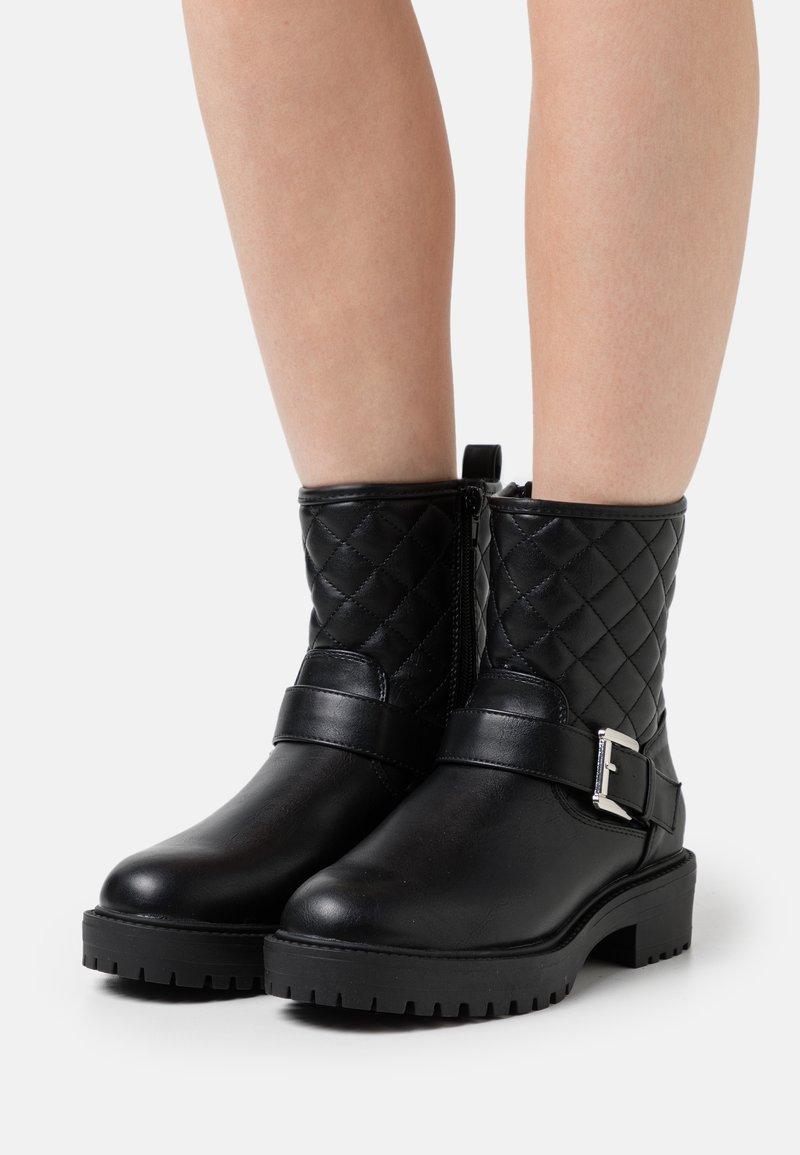New Look - CARLA - Cowboystøvletter - black