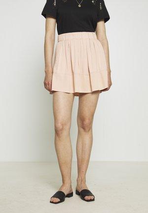 KIA VISCOSE 1831 - A-line skirt - adobe rose