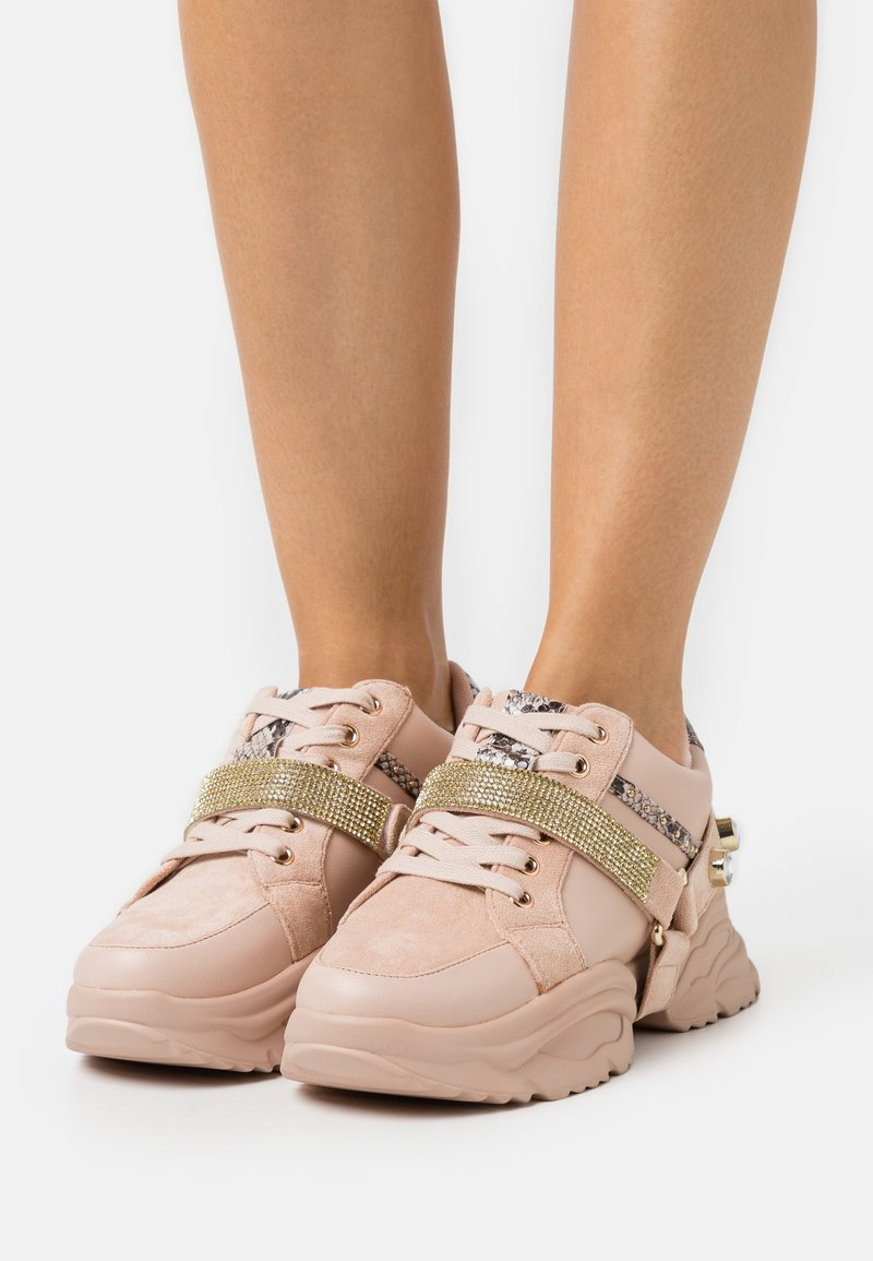 River Island - Trainers - pink light