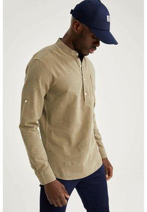 SLIM FIT - Camicia - grey