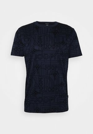 PANOS - T-shirt imprimé - dark blue