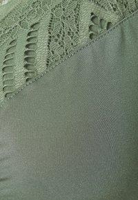 Hunkemöller - RABELLA NON WIRE - Triangle bra - hedge green - 2