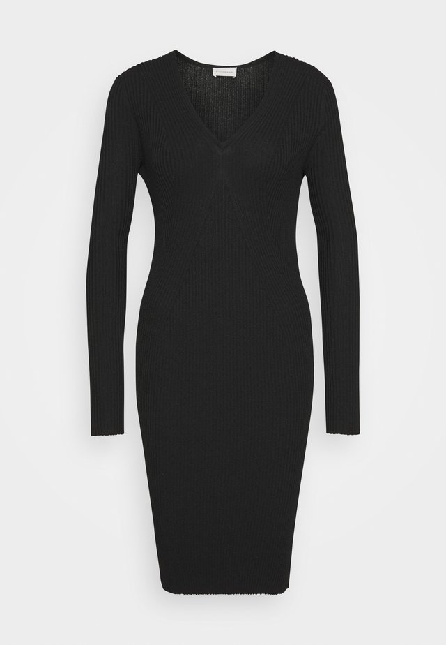 DINEMA - Shift dress - black