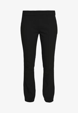 SLIM KICK FLARE PANT - Bukse - black