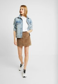 Hollister Co. - Minisukně - brown/toasted coconut - 1