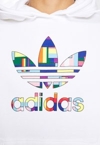 adidas Originals - SPORTS INSPIRED REGULAR HOODED - Hoodie - white/multi coloured - 7