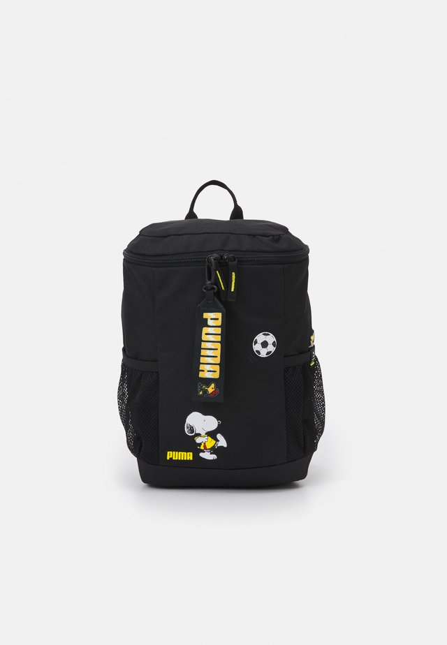PEANUTS BACKPACK UNISEX - Reppu - black