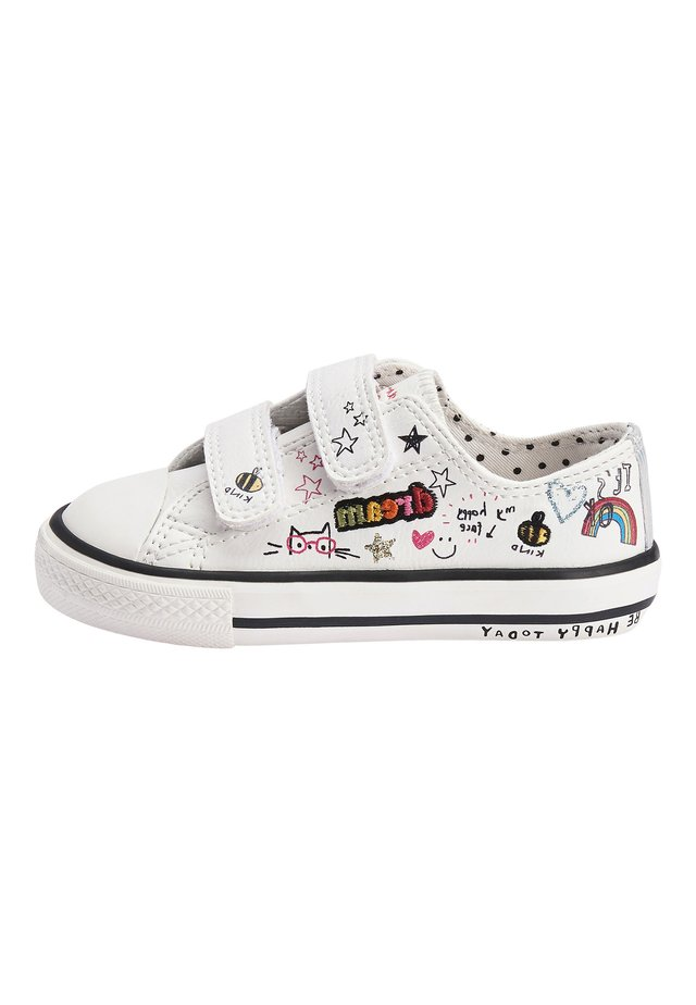 BADGES TOUCH - Sneakers laag - white